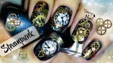 Steampunk Nail Art
