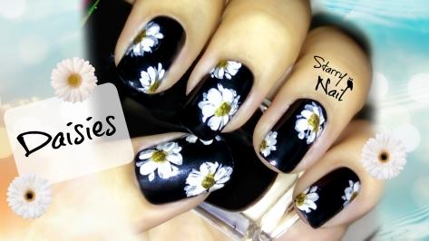 Daisies (Flowers) Nail Art