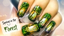 Morning in the Forest Nail Art Tutorial