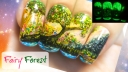 Fairy Forest Freehand Nail Art Tutorial
