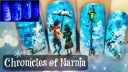 The Chronicles of Narnia ⎮ Glow in the Dark Freehand Nail Art Tutorial