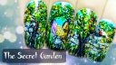 The Secret Garden ⎮ Freehand Nail Art Tutorial